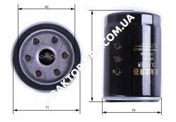 Фильтр масляный D-17mm Foton 244, Jinma 244
