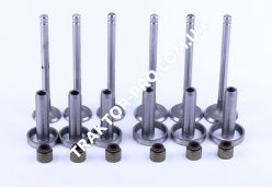 Клапана впуск выпуск комплект КМ385ВТ (DongFeng 240/244, Foton 240/244, Jinma 240/244)