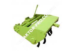 Почвофреза 100 DW-150RX с дополнительным редуктором и навесным механизмом для ДТЗ 180