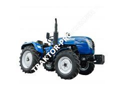 Трактор DW 244AHTХD (3 цил., ГУР, КПП (4+1)х2, пер./зад. груз, колеса 6,50х16/11,2х24, розетка)