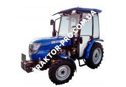 Трактор DW 244AHTХС (3 цил., ГУР, КПП (4+1)х2, пер./зад. груз, колеса 6,50х16/11,2х24, розетка)