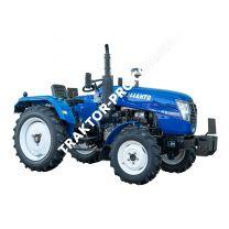 Трактор DW 244AHTD (3 цил., ГУР, КПП (4+1)х2, пер./зад. груз, колеса 6,50х16/9,50х24, розетка, двух дисковое сцепление)
