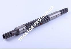 Вал первичный КПП L-390mm, Z-15/16/15 Foton 244, Jinma 244/264