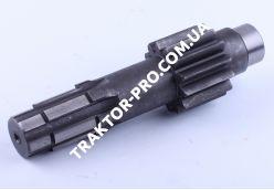 Вал КПП №5 L-227mm, Z-6/13 Xingtai 24B, Shifeng 244, Taishan 24