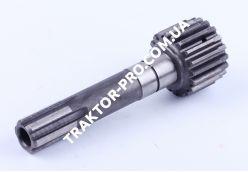 Вал первичный дополнительной КПП Z-6/19 L-165mm Xingtai