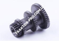 Шестерня 1-3 передачи КПП L-147mm, Z-20/26/34/44 Jinma 200/204/240/244